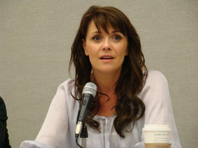 Amanda Tapping Comic Con 2009