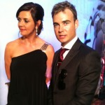 Amanda Tapping y Robin Dunne en los Leo Awards 2012